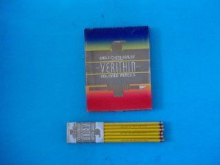 Eagle Chemi Sealed 735 Verithin Colored Pencil Canary Yellow Made in USA Sold Individually  Wood Colored Pencils