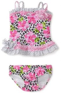Kate Mack Baby girls Infant Rosa Del Rio 2 Piece Swimsuit, Multiple Colors, 24 Months: Clothing