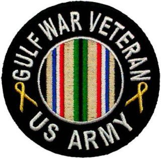 GULF WAR Veteran US ARMY VET Military Biker Vest Patch!: Everything Else