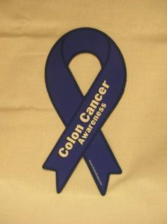 Colon Cancer Awareness Ribbon Car Magnet : Other Products : Everything Else