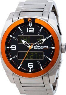 Rip Curl Men's A2260 International Stainless Steel Orange Watch: Watches
