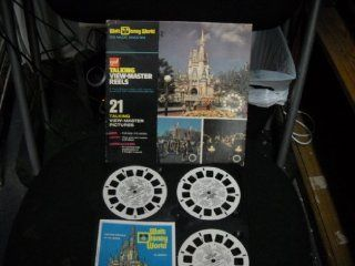Walt Disney World~The Magic Kingdom Talking View Master Reels Toys & Games