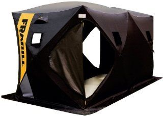 Frabill Headquarters Ice Shelter  Fishing Ice Fishing Shelters  Sports & Outdoors