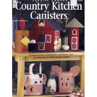 Plastic Canvas Country Kitchen Canisters: Books