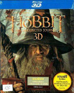 The Hobbit An Unexpected Journey (Blu ray 3D+2D) Steelbook + Film Card: Martin Freeman, Ian McKellen, Richard Armitage, James Nesbitt, Ken Stott, Peter Jackson: Movies & TV