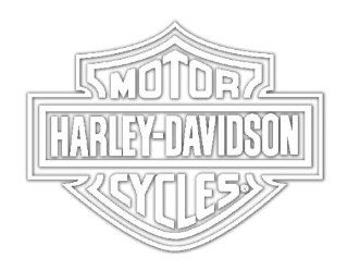 Chroma Graphics Harley Davidson Window Decal: Automotive