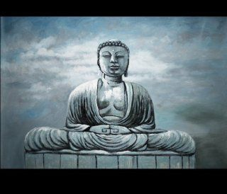Meditation Painting Sitting Buddha Painting Feng Shui Painting   Watercolor Paintings