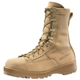 Belleville 790 Steel Toe Waterproof Tan Safety Toe Boots Men's: Shoes