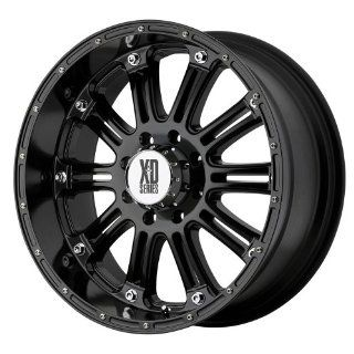"KMC Wheels XD Series Hoss XD795 Gloss Black Wheel (16x8""/8x6.5""): Automotive"