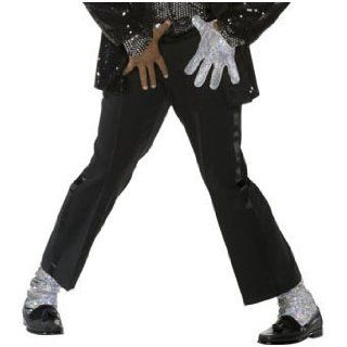 Michael Jackson Billie Jean Black Tuxedo Pants: Clothing