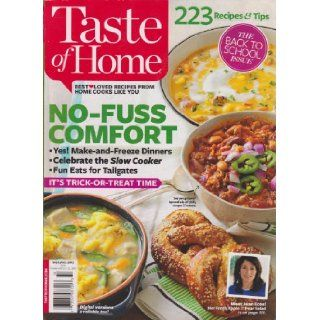 Taste Of Home Magazine September/October 2013 Various Books