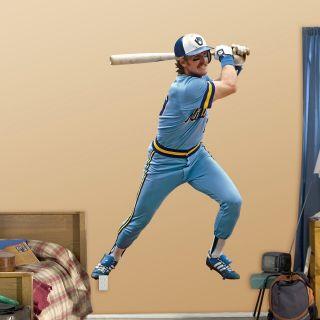 Fathead MLB Player Legends Wall Decal   Clocks & Wall Art