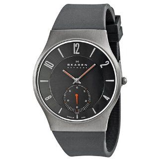 Skagen Two Hand with Sub Seconds Titanium Men's watch #805XLTRM at  Men's Watch store.