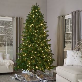 Brite Ideas Shake to Shape Spruce Medium Pre lit Christmas Tree   Artificial Christmas Trees