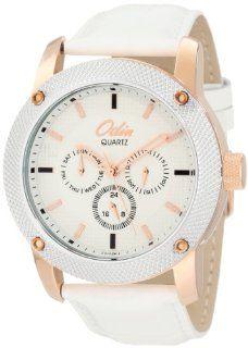 Odin Men's 813 2M Gold Plated Quartz Dress Watch Watches