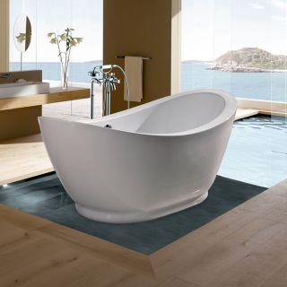 Aquatica PureScape 65 Inch Slipper Freestanding Tub PURESCAPE 148   Freestanding Tubs