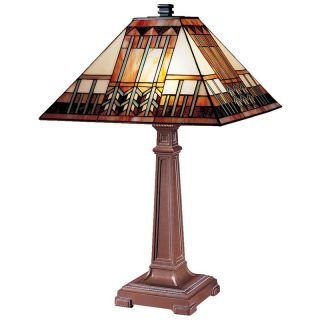 Dale Tiffany Arrow Mission Table Lamp   Table Lamps
