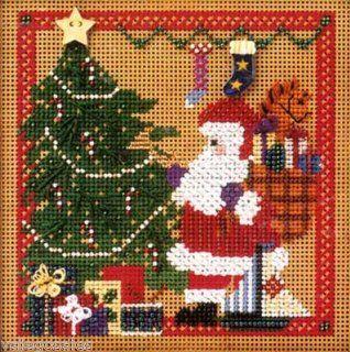Mill Hill Buttons Beads Cross Stitch Kit   Santa's Visit