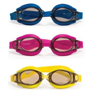 Poolmaster Silicone Sport/Fitness Goggles   3 Pack (1 EA Color)   Swimming Pool Games & Toys