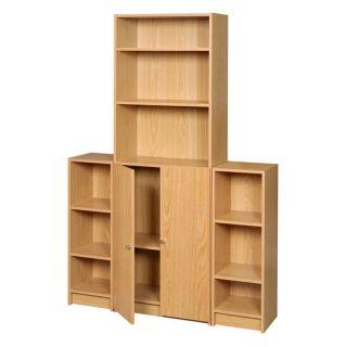 Homestyles 2 Door Decorative Organizer Set   Bookcases