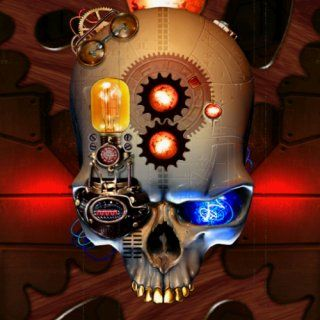 Steampunk Skull Live Wallpaper: Appstore for Android