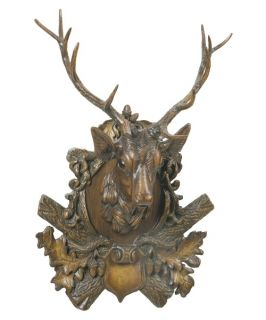 Oklahoma Casting Royal Stag Deer Wall Art   Wall Sculptures and Panels