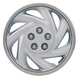 "Drive Accessories KT845 13SL PC 13"" Plastic Wheel Cover, Silver Lacquer (Alloy Color), Single Piece: Automotive"
