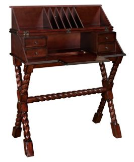 Powell Bombay Collection Voyager Secretary Desk   Desks