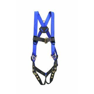 Elk River 48353 Construction Plus Polyester/Nylon 3 D Ring Harness with Tongue buckles, Fits Small to X Large: Fall Arrest Safety Harnesses: Industrial & Scientific