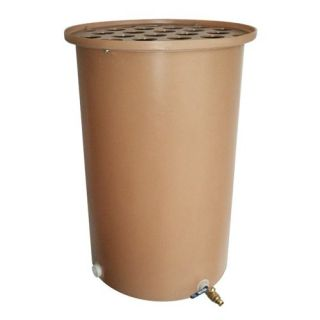 Tijeras 27 x 42 in. Cubo Plus Polka Dot Rain Barrel   Rain Barrels