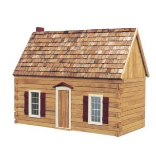 Real Good Toys Blue Ridge Cabin Kit   1 Inch Scale   Collector Dollhouse Kits