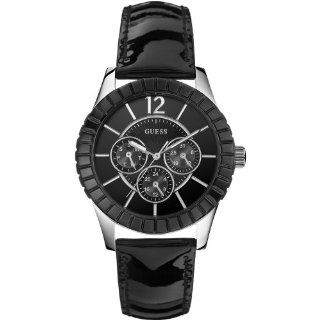 Guess W95134L2 Ladies Facet Black Watch: Watches