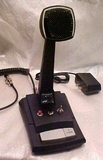 CUSTOM Astatic AST 878DM Amplified CB Ham Radio 6 PIN RCI Base Station Desk Microphone BLUE !!: Electronics