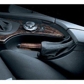 BMW Poplar/Leather Brake Handle  Light Poplar   5 Series 2005 2009/ X3 SAV 2005 2010/ 5 Series Sedans 2010/ 5 Series Sport Wagons 2010/ M5 Sedan 2008 2010 Automotive