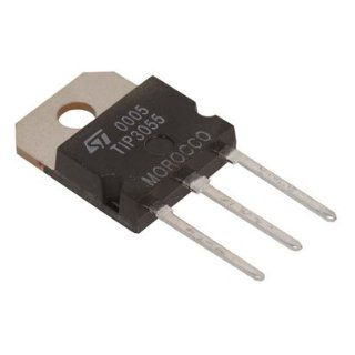 TRANSISTOR, TIP3055, T0 218, NPN 100V 15A: Industrial & Scientific