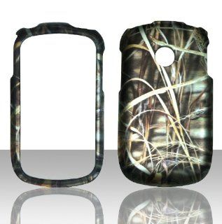 2D Camo Grass Real Mossy LG 800G Straight Talk / LG 800G Net10 Tracfone Case Cover Hard Phone Case Snap on Cover Rubberized Touch Protector Cases: Cell Phones & Accessories