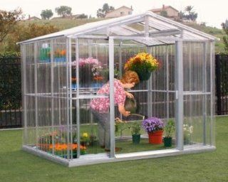 US Polymers 80111 8 ft. x 6 ft. Greenhouse  Patio, Lawn & Garden