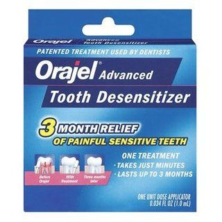 Orajel Advanced Tooth Desensitizer: Health & Personal Care