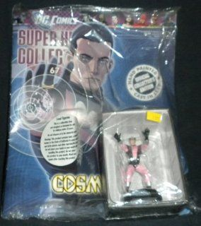 DC Comics Super Hero Collection Lead Figurine Cosmic Boy #67 / Eaglemoss   Sealed w/Collector's Magazine  Other Products