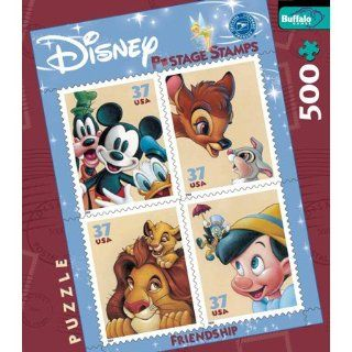 Art of Disney   Friendship Postage Stamp Jigsaw Puzzle 500pc Toys & Games