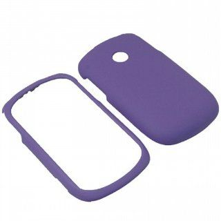BW Hard Shield Shell Cover Snap On Case for Tracfone, Net 10 LG 800G  Purple: Cell Phones & Accessories