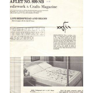 Tree of Life Bedspread and Shams   Cross Stitch Pattern (McCall's Needlework & Crafts Magazine, Fall 1977, Leaflet No. 899 NB): McCall's Needlework & Crafts Magazine: Books