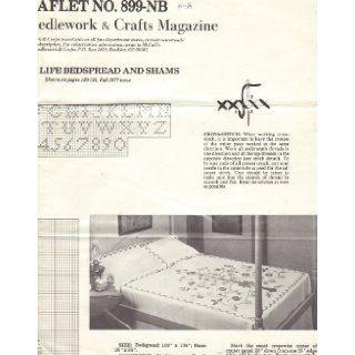 Tree of Life Bedspread and Shams   Cross Stitch Pattern (McCall's Needlework & Crafts Magazine, Fall 1977, Leaflet No. 899 NB): McCall's Needlework & Crafts Magazine: Books