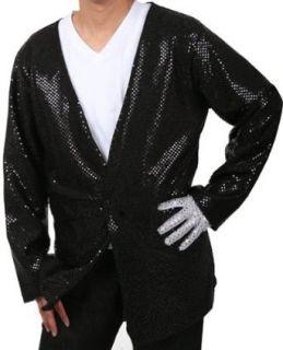 Adult Michael Jackson Billie Jean Costume Jacket: Adult Sized Costumes: Clothing