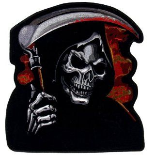 "Hot Leathers Grim Reaper Biker Patch (11"" Width x 12"" Height): Automotive"