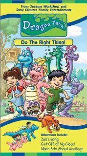 Dragon Tales   Do the Right Thing [VHS]: Andrea Libman, Danny McKinnon, Ty Olsson, Chantal Strand, Jason Michas, Kathleen Barr, Eli Gabay, Scott McNeil, Aida Ortega, Garry Chalk, Ellen Kennedy, Stevie Vallance, Phil Weinstein, Elana Lesser, Kimberly Smith,