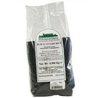 Riso Venere (Black Rice)   1 x 1.1 lbs  Black Rice Produce  Grocery & Gourmet Food