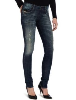 Diesel Women's Grupee Super Skinny Leg Jean 0661S, Denim, 28 at  Women�s Clothing store: