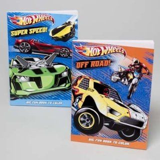 Hot Wheels Coloring Book 96 Pages  Childrens Drawing Pads And Books