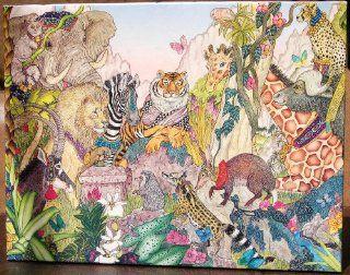 Jungle Animals By Jan Brett Jigsaw Puzzle #935 Toys & Games